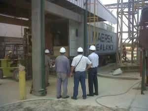 Carga de harina de soja Entre Rios Crushing 2